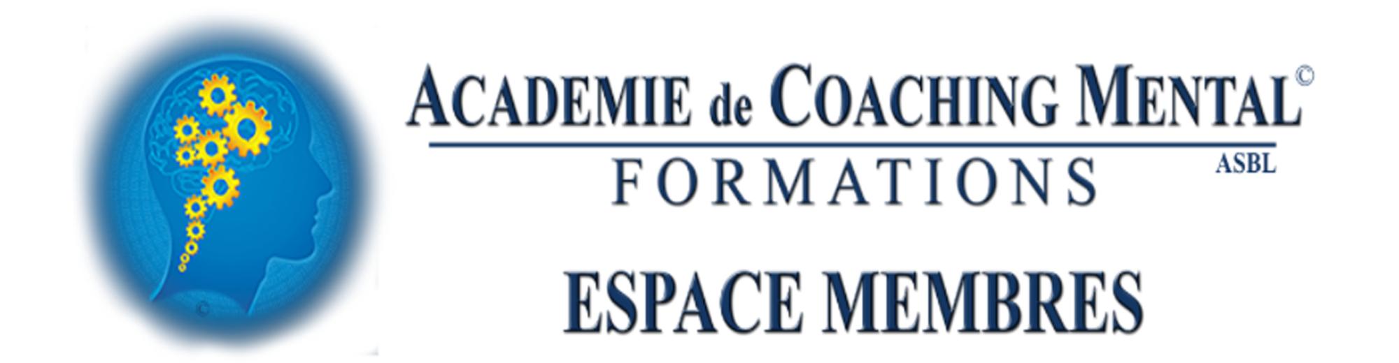 Espace personnel Académie de Coaching Mental